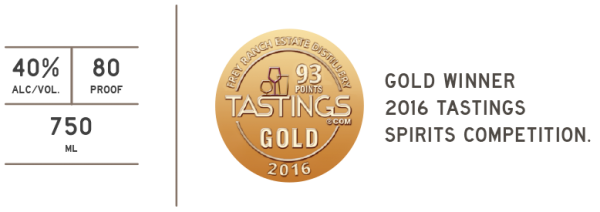 Frey Ranch Tastings Gold 2016