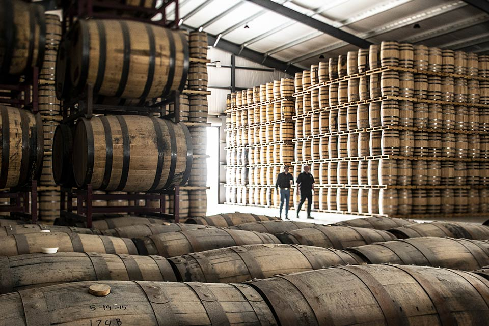 Barrel Wharehouse at Frey Ranch