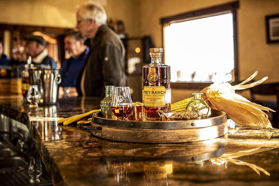 Frey Bourbon Tasting Room