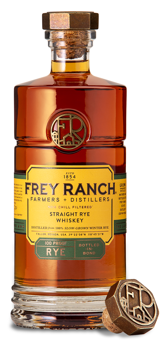 Frey Ranch Rye Whiskey