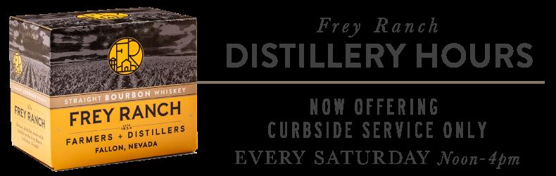 Distillery Hours Curbside