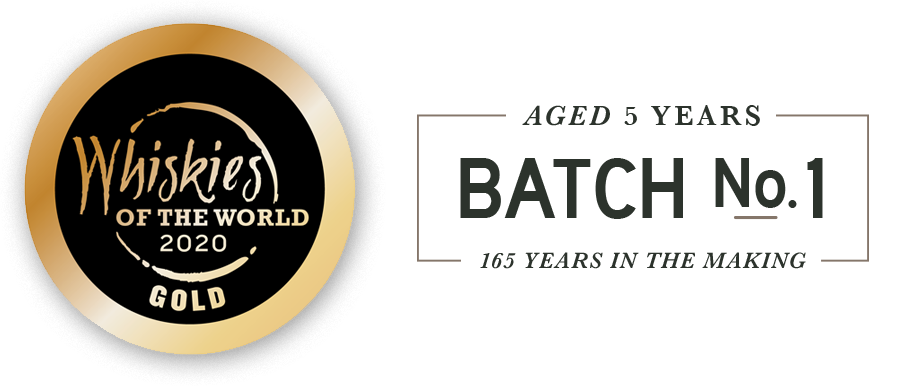 Whiskies of the World Gold Award