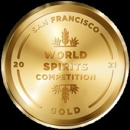 San Francisco World Spirits Competition Gold
