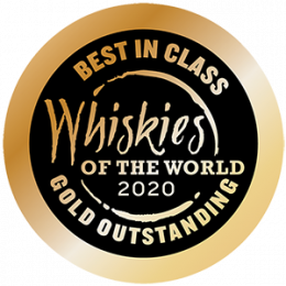 Whiskies of the World Best in Class Gold Outstanding