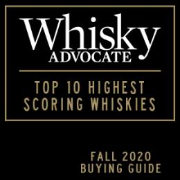 Whiskey Advocate Top 10 Scoring Whiskies