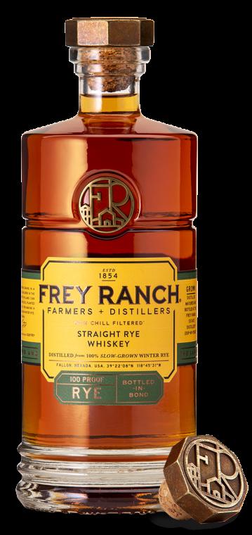 Frey Ranch Rye Whiskey